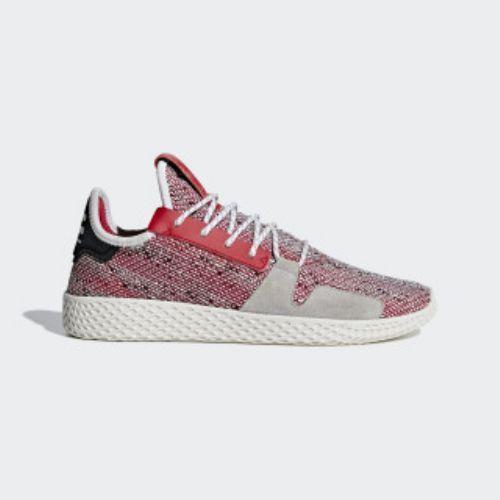 (取寄)アディダス オリジナルス メンズ ファレル ウィリアムズ ソーラーHu テニス V2 シューズ adidas originals Men's Pharrell Williams SOLARHU Tennis V2 Shoes Scarlet / Cloud White / Core Black