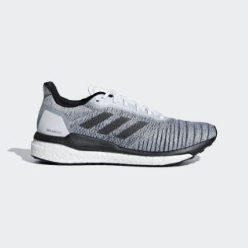 (取寄)アディダス メンズ ソーラー ドライブ ランニングシューズ adidas Men's Solar Drive Shoes Cloud White / Core Black / Grey