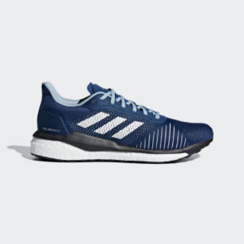 (取寄)アディダス メンズ ソラードライブ St ランニングシューズ adidas Men's Solardrive ST Shoes Legend Marine / Cloud White / Ash Grey