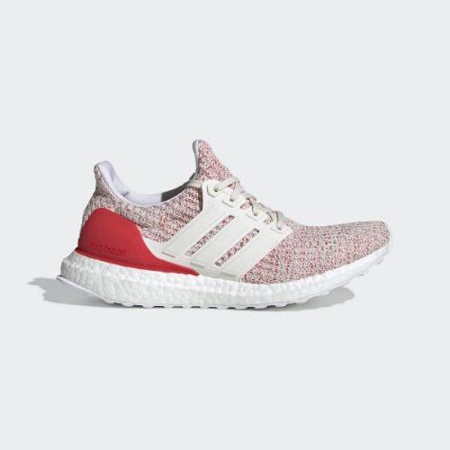 (取寄)アディダス レディース ウルトラブースト ランニングシューズ adidas Women Ultraboost Shoes Chalk White / Chalk White / Active Red