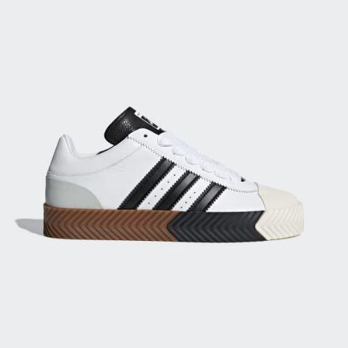 (取寄)アディダス オリジナルス メンズ アディダス オリジナル バイ AW スケート スーパー シューズ adidas originals Men's adidas Originals by AW Skate Super Shoes White / Core Black / Tech Silver