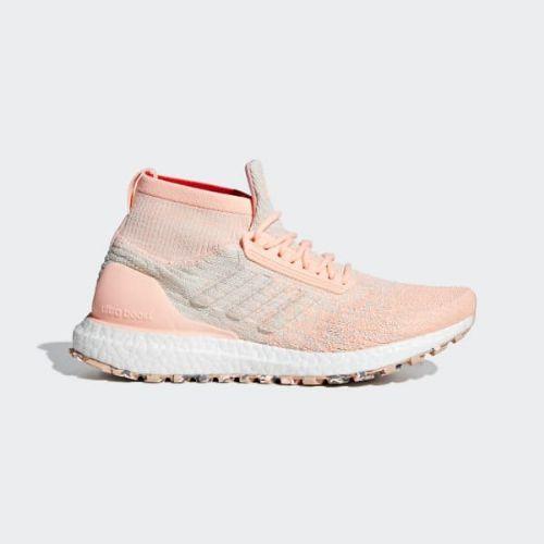 (取寄)アディダス レディース ウルトラブースト オール テレイン ランニングシューズ adidas Women Ultraboost All Terrain Shoes Clear Orange / Off White / Raw White