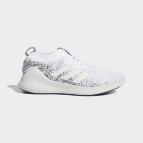 (取寄)アディダス レディース ピュア バウンス+ ランニングシューズ adidas Women Purebounce+ Shoes Cloud White / Cloud White / Raw White