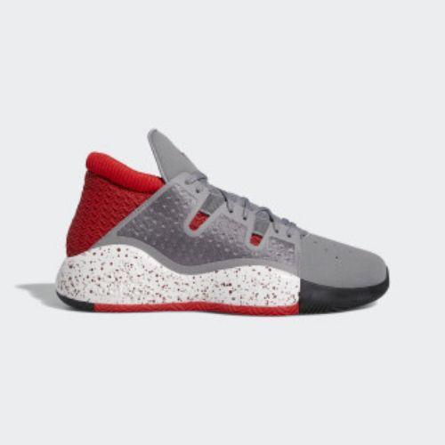 (取寄)アディダス メンズ プロ ビジョン バスケットボールシューズ adidas Men's Pro Vision Shoes Grey / Collegiate Burgundy / Active Red