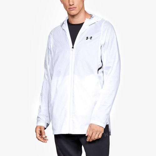 (取寄)アンダーアーマー メンズ セレクト ジャケット Underarmour Men's Select Jacket White Black