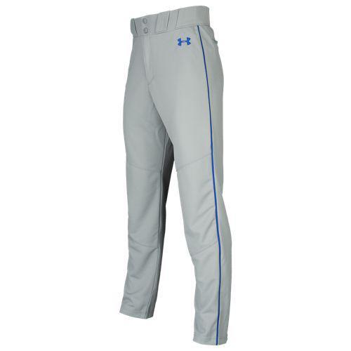 (取寄)アンダーアーマー メンズ ユーテリティ リラックスド パイプド パンツ Underarmour Men's Utility Relaxed Piped Pants Baseball Grey Royal Royal