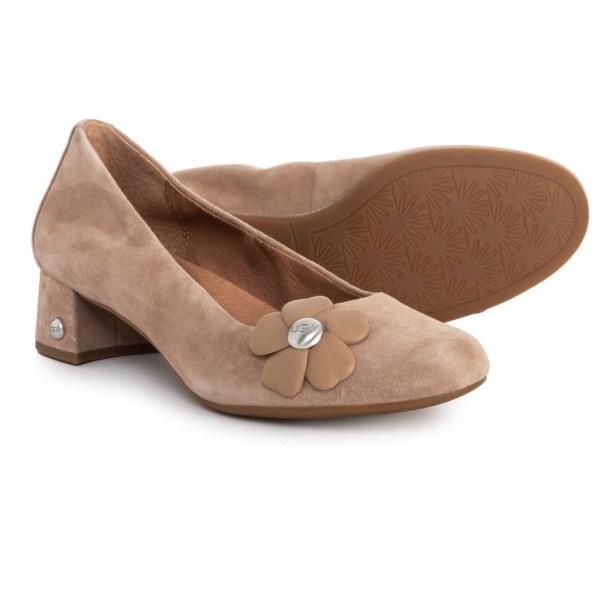 (取寄)アグ レディース フルール ポピー シューズ UGG Australia Women Fleur Poppy Suede Shoes Tiedeline