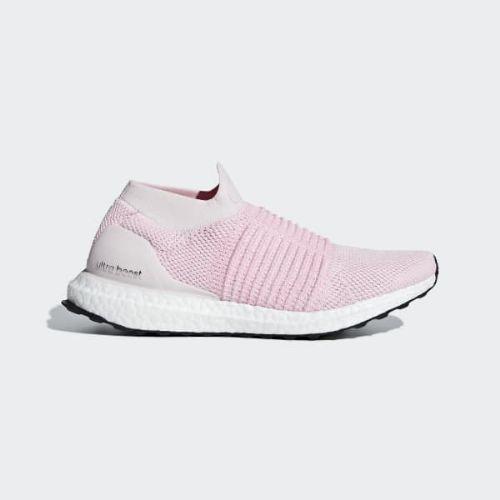 (取寄)アディダス レディース ウルトラブースト レースレス ランニングシューズ adidas Women Ultraboost Laceless Shoes Orchid Tint / True Pink / Carbon