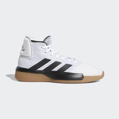 (取寄)アディダス メンズ プロ アドヴバーサリー 2019 バスケットボールシューズ adidas Men's Pro Adversary 2019 Shoes Cloud White / Core Black / Grey