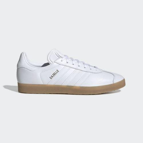 (取寄)アディダス オリジナルス メンズ ガゼル シューズ adidas originals Men's Gazelle Shoes Cloud White / Cloud White / Gum