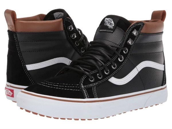 (取寄)Vans(バンズ) スニーカー スケート ハイ MTE ユニセックス メンズ レディース Vans Unisex SK8 Hi MTE (MTE) Leather/Black/True White