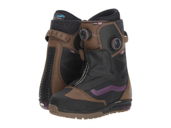 【クーポンで最大2000円OFF】(取寄)Vans(バンズ) スノーブーツ Verse '18 メンズ Vans Men's Verse '18 Brown/Purple (TNF/Blake Paul)【outdoor_d19】