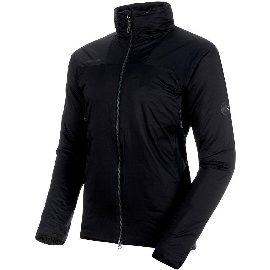 【マラソン ポイント10倍】(取寄)マムート メンズ ライム イン ハイブリッド フレックス ジャケット Mammut Men's Rime IN Hybrid Flex Jacket Black/Phantom