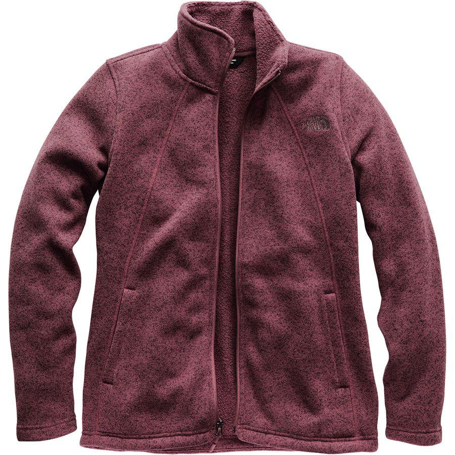 (取寄)ノースフェイス レディース クレセント フルジップ ジャケット The North Face Women Crescent Full-Zip Jacket Fig Heather
