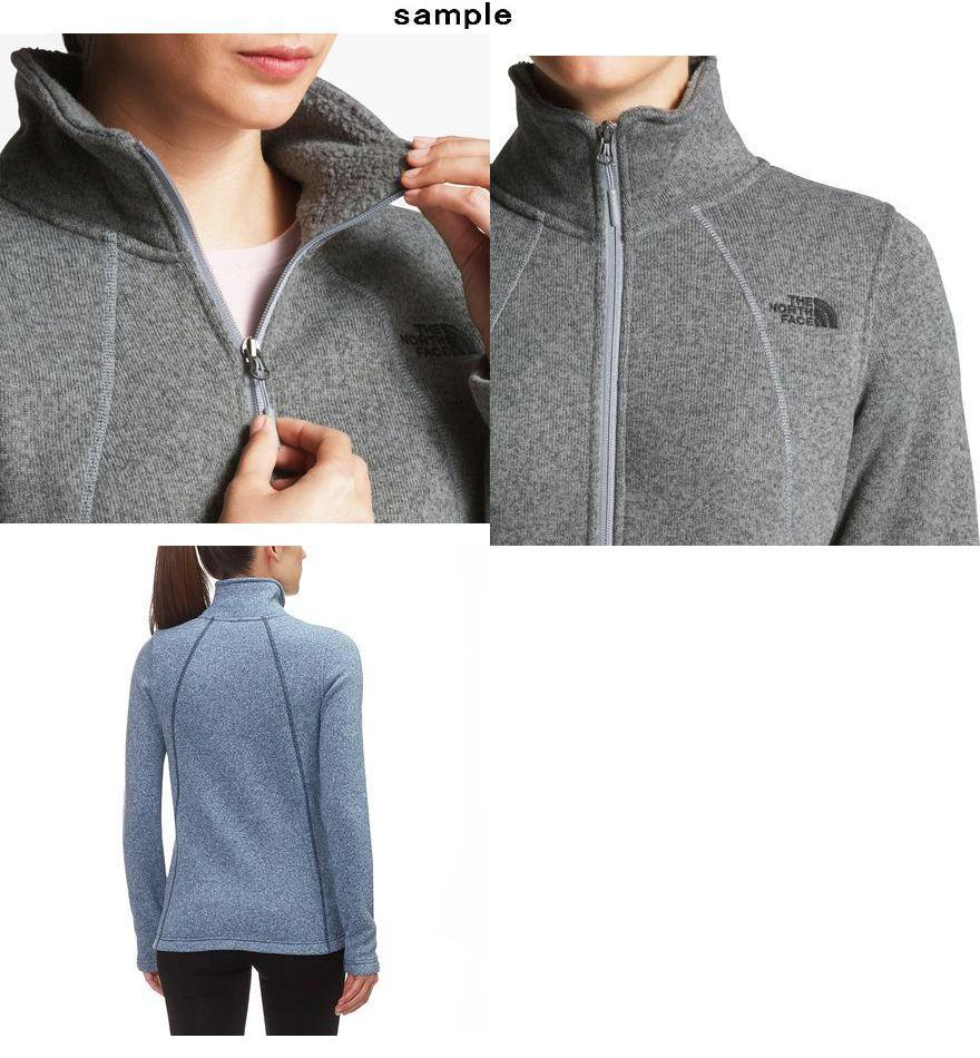70ca30ee3 (order) North Face Lady's Crescent full zip jacket The North Face Women  Crescent Full-Zip Jacket Fig Heather