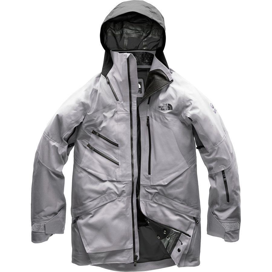 (取寄)ノースフェイス メンズ フューズ ブリガンダイン フーデッド ジャケット The North Face Men's Fuse Brigandine Hooded Jacket Vaporous Grey Fuse/Tnf Black Fuse