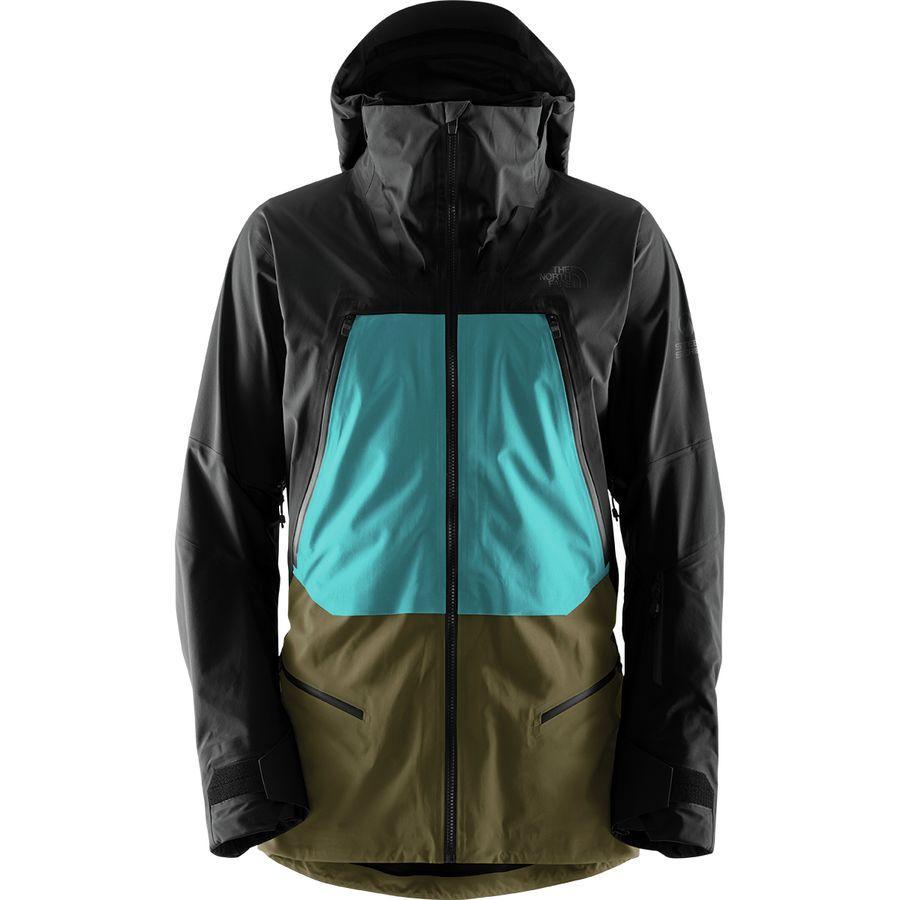 【クーポンで最大2000円OFF】(取寄)ノースフェイス メンズ ピュリスト ジャケット The North Face Men's Purist Jacket Tnf Black/Kokomo Green/Beech Green