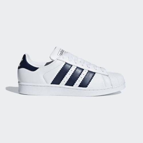 (取寄)アディダス オリジナルス メンズ スーパースター シューズ adidas originals Men's Superstar Shoes Cloud White / Collegiate Navy / Cloud White
