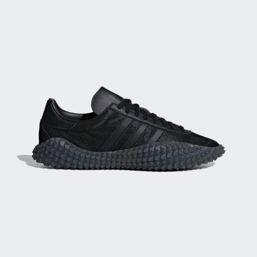 (取寄)アディダス オリジナルス メンズ カントリーxカマンダ シューズ adidas originals Men's CountryxKamanda Shoes Core Black / Utility Black / Solar Red