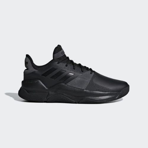 (取寄)アディダス メンズ ストリートフロー バスケットボールシューズ adidas Men's Streetflow Shoes Core Black / Core Black / Grey