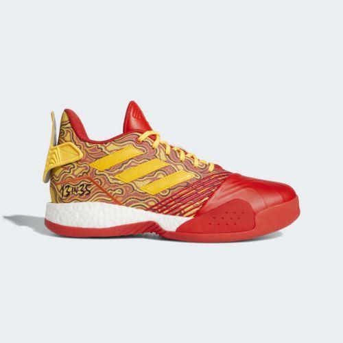 (取寄)アディダス メンズ ティ バスケットボールシューズ adidas Men's T Shoes Scarlet / Gold Metallic / Red