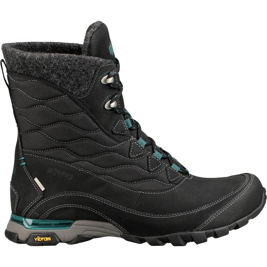 (取寄)アニュ レディース シュガーフロスト インサレーテッド ブーツ Ahnu Women Sugarfrost Insulated Boot Black