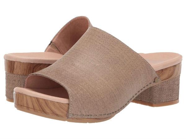 (取寄)ダンスコ レディース マチ Dansko Women Maci Taupe Textured Leather