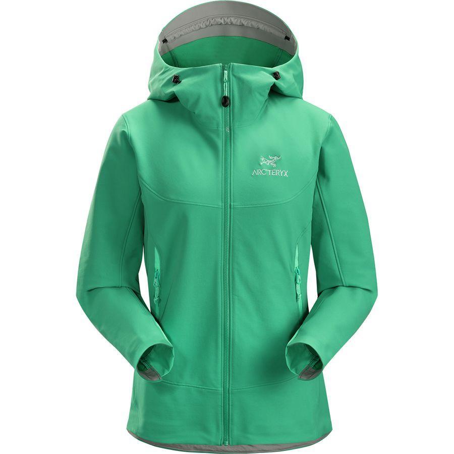 (取寄)アークテリクス レディース ガマー LT フーデッド ソフトシェル ジャケット Arc'teryx Women Gamma LT Hooded Softshell Jacket Levitate
