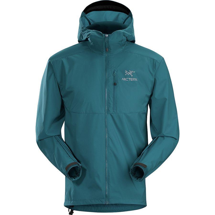 (取寄)アークテリクス メンズ スカーミッシュ フーデッド ジャケット Arc'teryx Men's Squamish Hooded Jacket Iliad