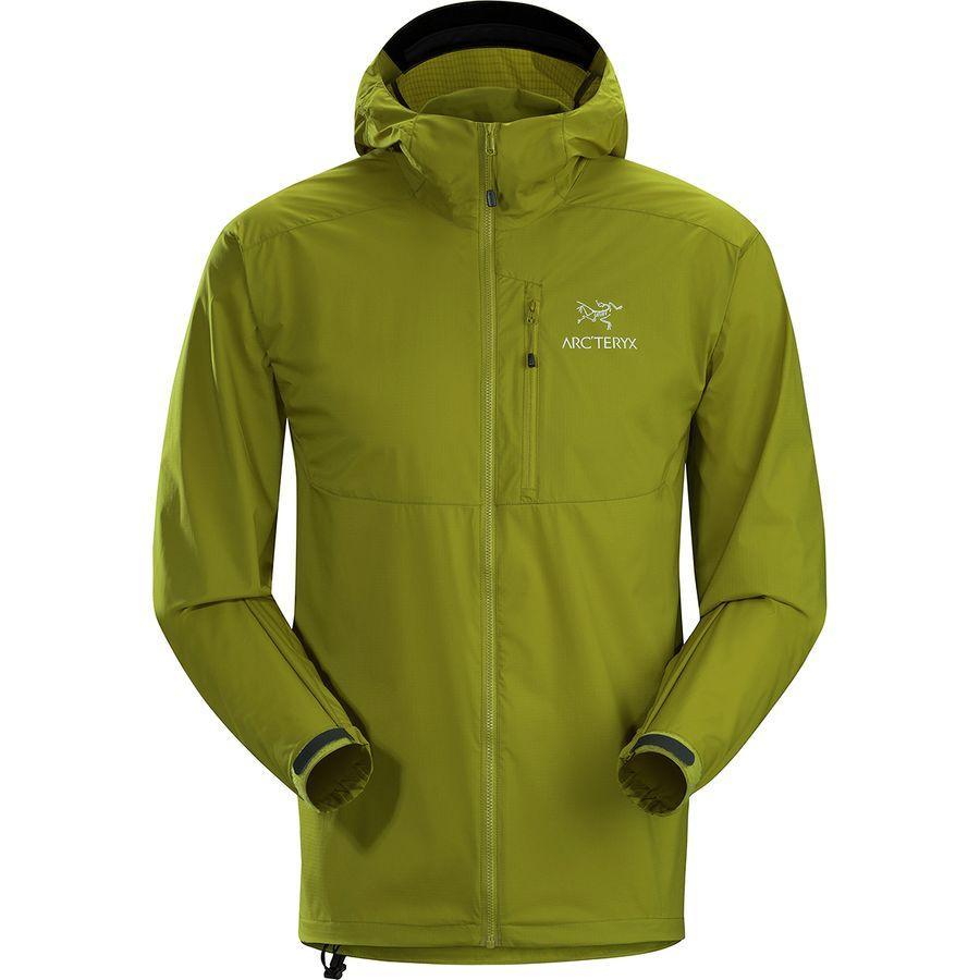 (取寄)アークテリクス メンズ スカーミッシュ フーデッド ジャケット Arc'teryx Men's Squamish Hooded Jacket Olive Amber