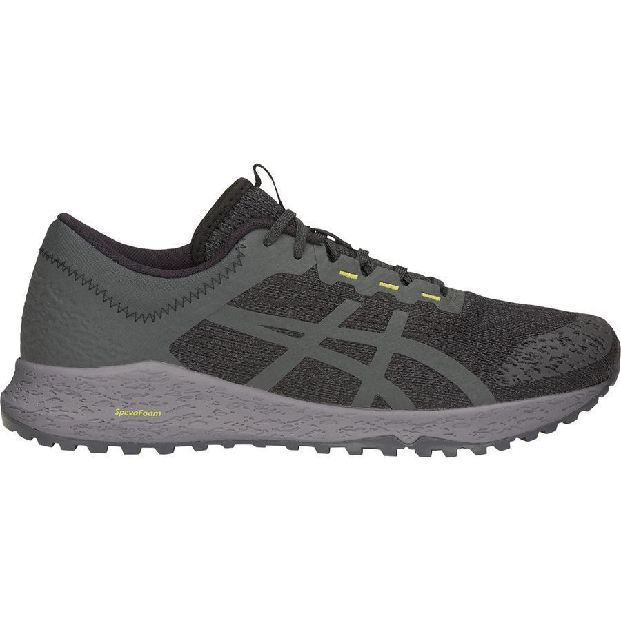 (取寄)アシックス メンズ アルパイン XTトレイル ランニングシューズ Asics Men's Alpine XT Trail Running Shoe Black/Dark Grey