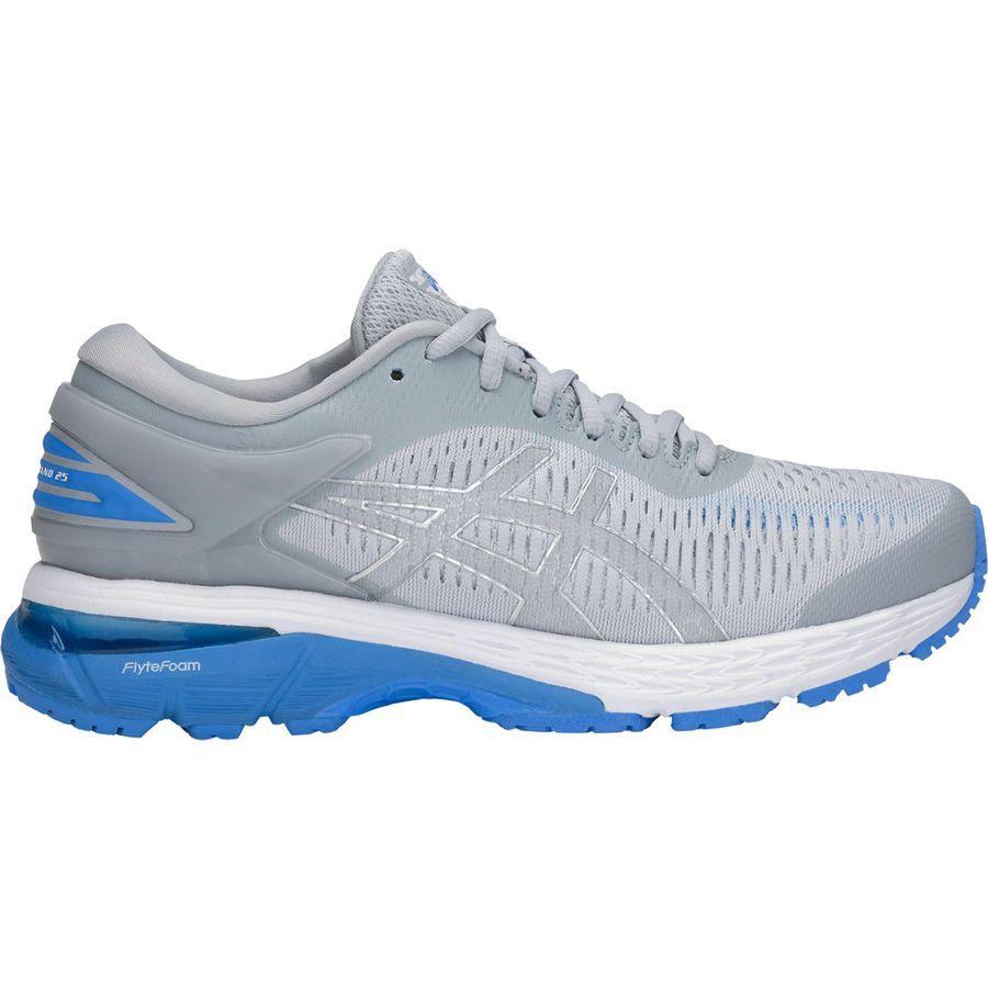 (取寄)アシックス レディース Gel-Kayano25 ランニングシューズ Asics Women Gel-Kayano 25 Running Shoe Mid Grey/Blue Coast