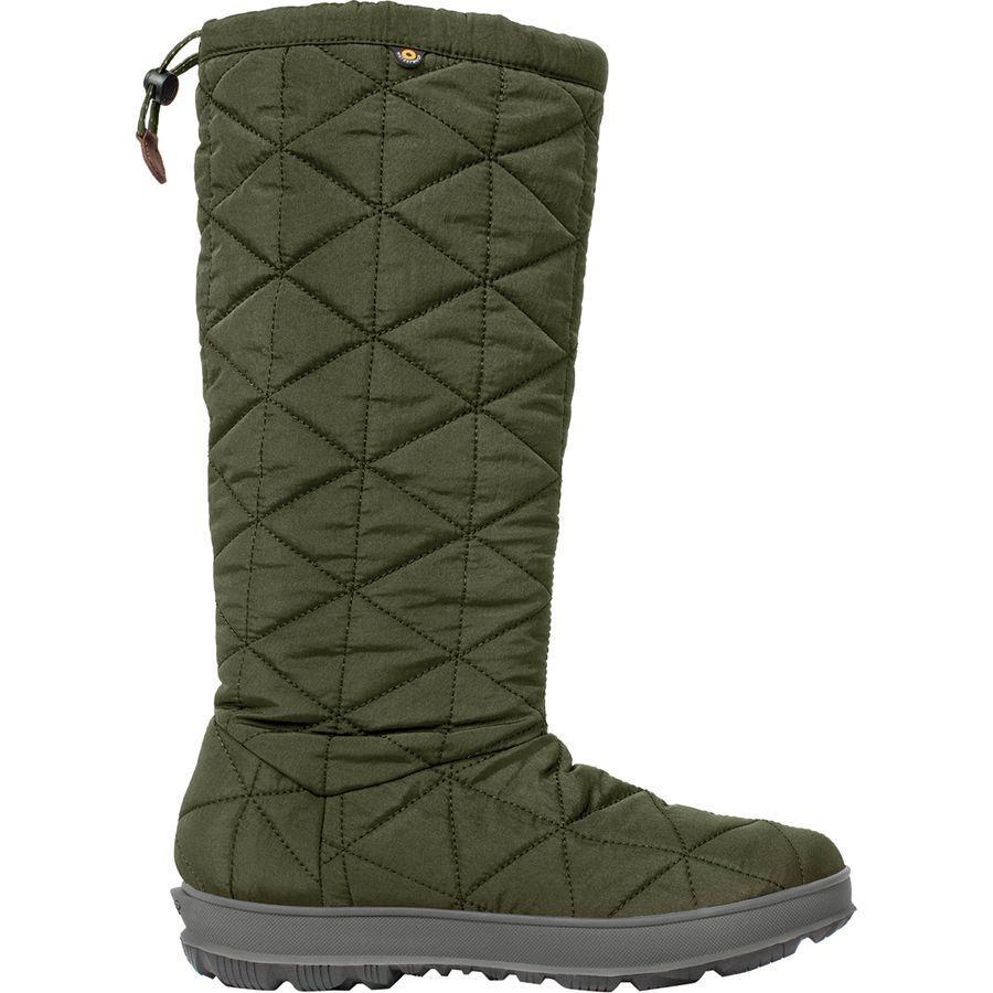 (取寄)ボグス レディース スノウデイ トール ブーツ Bogs Women Snowday Tall Boot Dark Green