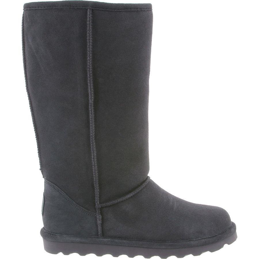 (取寄)ベアパウ レディース エル トール ブーツ Bearpaw Women Elle Tall Boot Charcoal