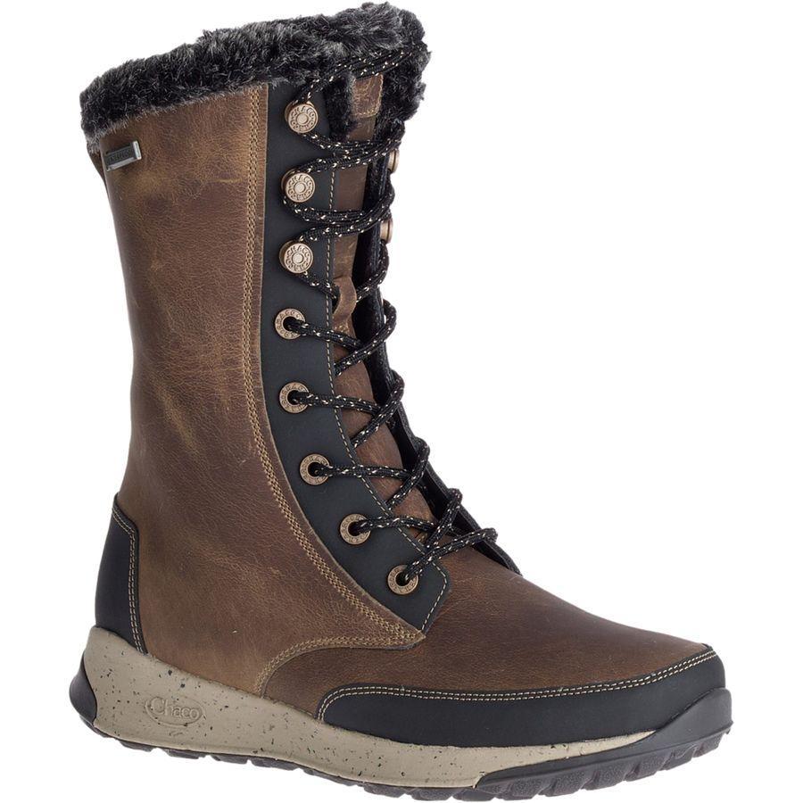 (取寄)チャコ レディース ボレアリス トール ブーツ Chaco Women Borealis Tall Boot Mink