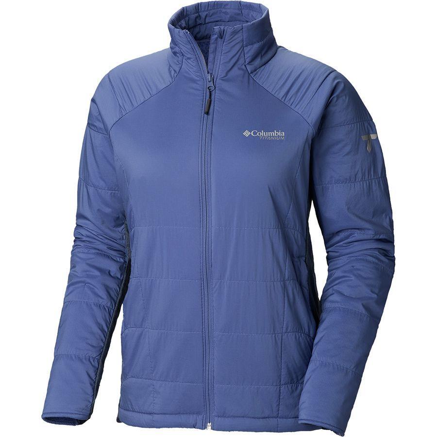 (取寄)コロンビア レディース Titanium アルパイン トラバース ジャケット Columbia Women Titanium Alpine Traverse Jacket Eve/Nocturnal Heather