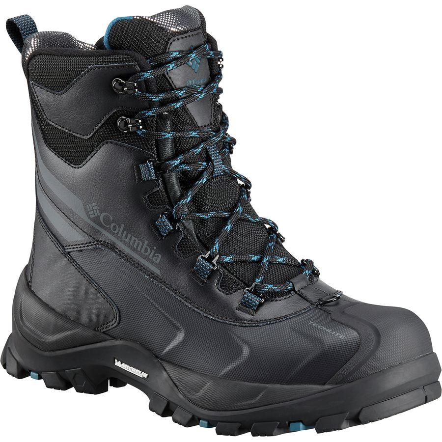 (取寄)コロンビア メンズ バガ プラス 4 オムニヒート ブーツ Columbia Men's Bugaboot Plus IV Omni-Heat Boot Black/Phoenix Blue