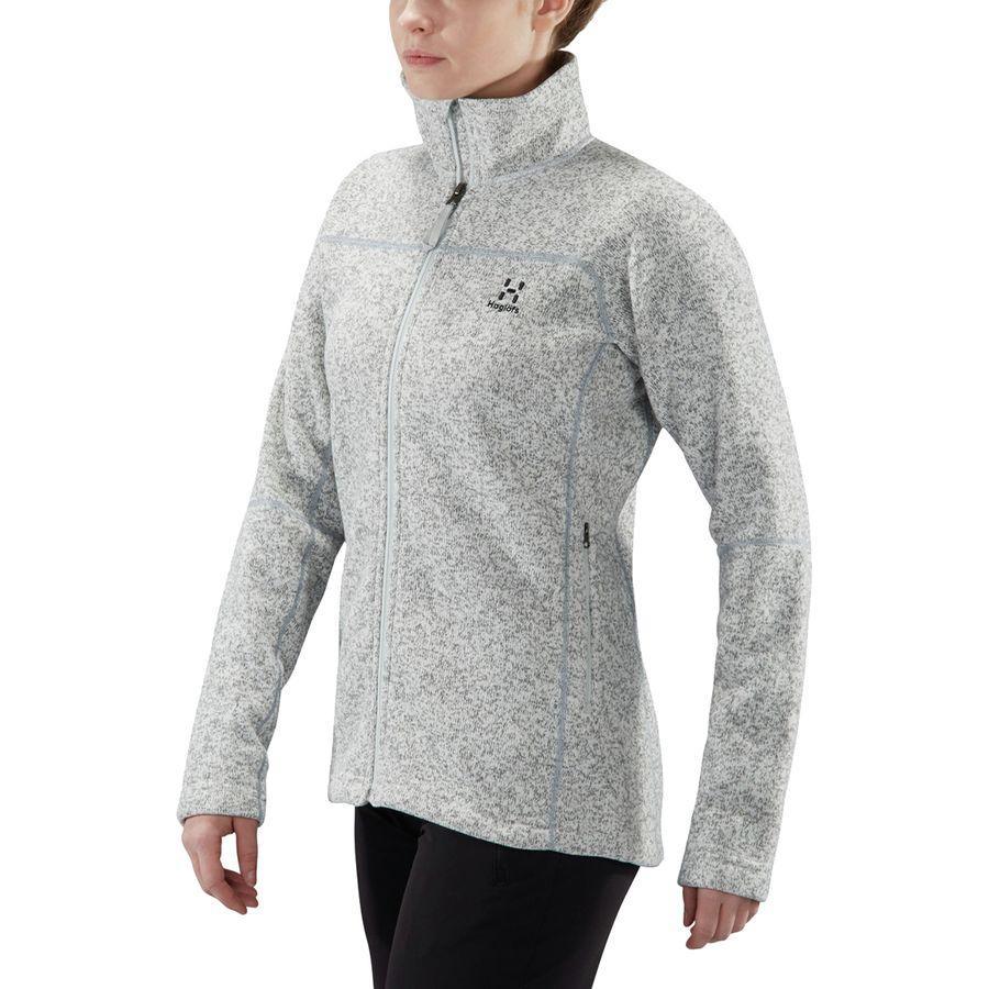 (取寄)ホグロフス レディース Swook フリース ジャケット Haglofs Women Swook Fleece Jacket Haze