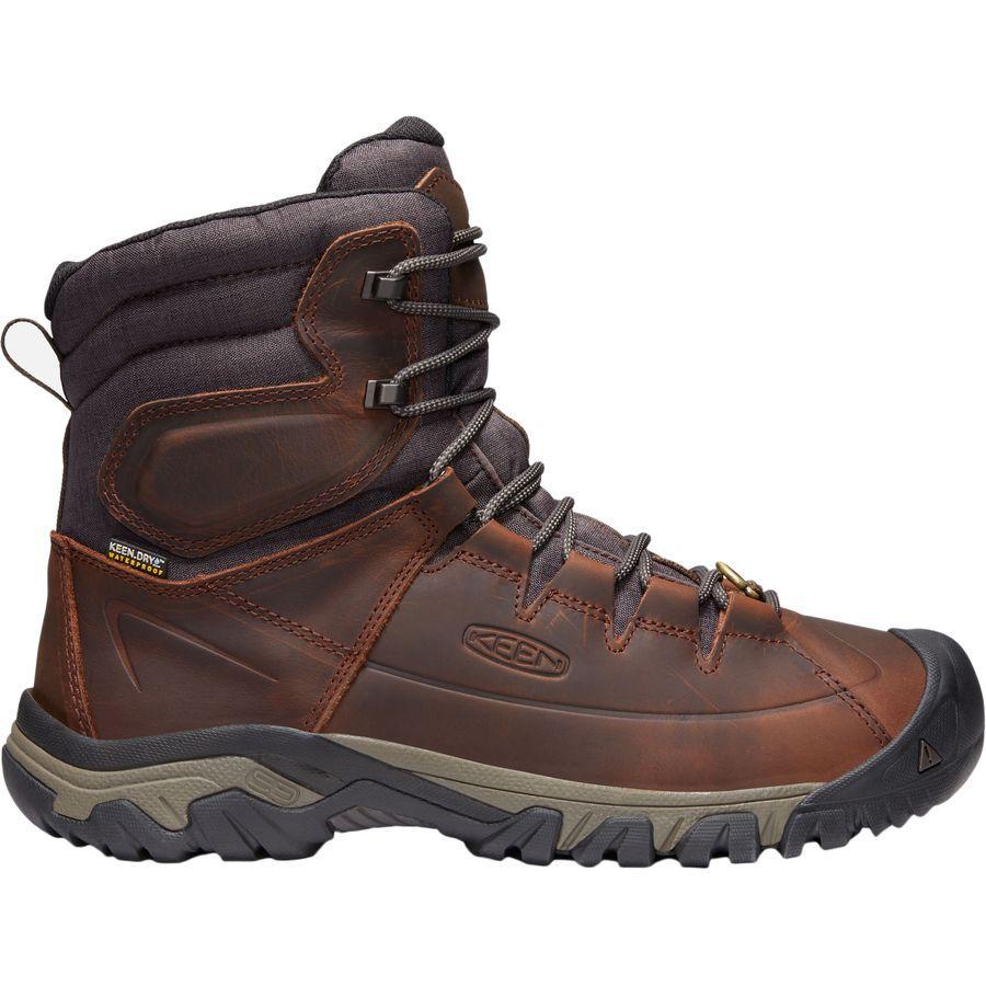 (取寄)キーン メンズ ターギー レース ハイ ブーツ KEEN Men's Targhee Lace High Boot Cocoa/Mulch