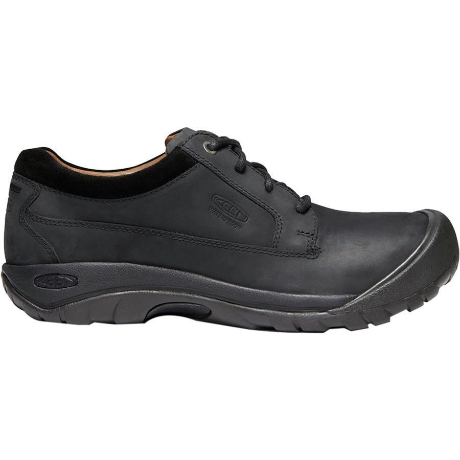 (取寄)キーン メンズ オースティン カジュアル シューズ KEEN Men's Austin Casual Shoe Black/Raven