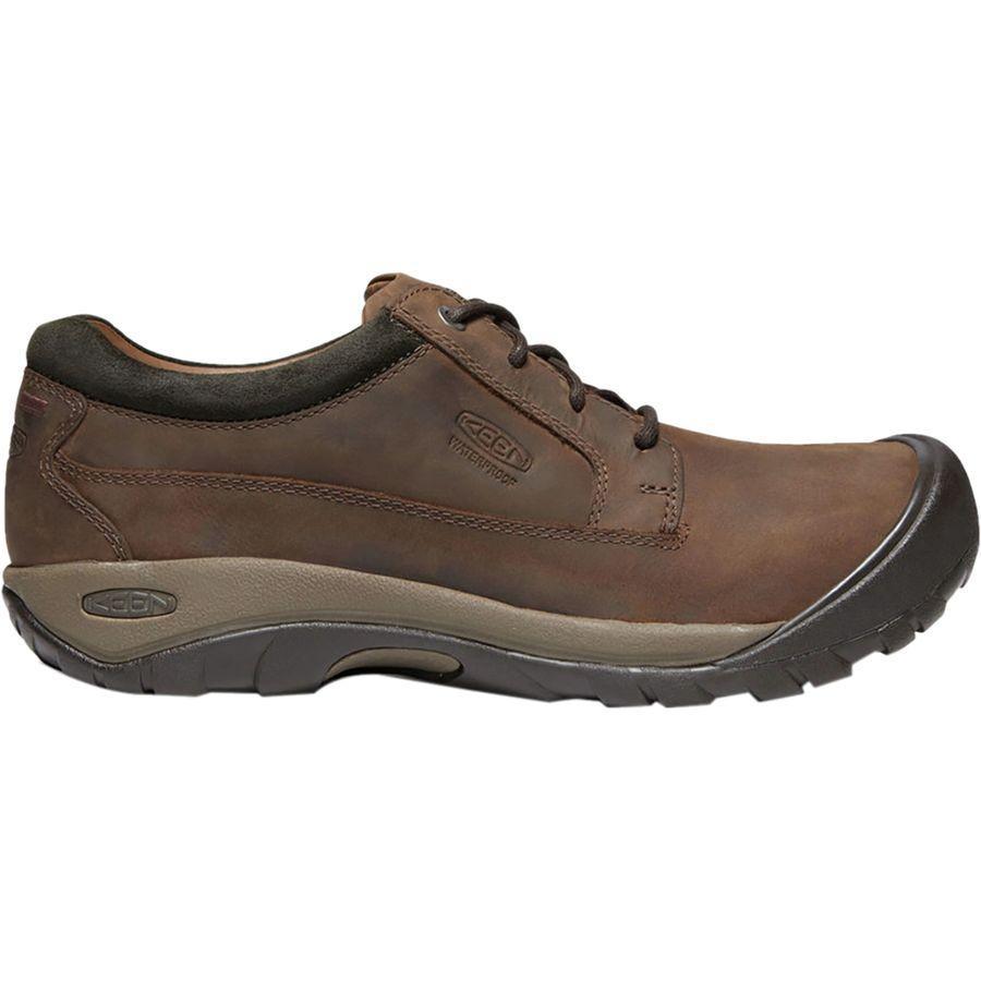(取寄)キーン メンズ オースティン カジュアル シューズ KEEN Men's Austin Casual Shoe Chocolate Brown/Black Olive