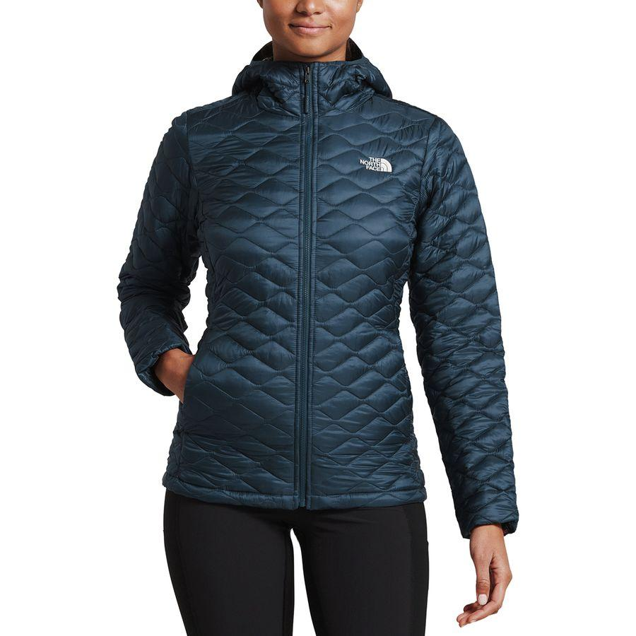 2b234b5985be (order) ノースフェイスレディースサーモボールフーデッドインサレーテッドジャケット The North Face Women  Thermoball Hooded Insulated Jacket Blue Wing Teal Blue ...
