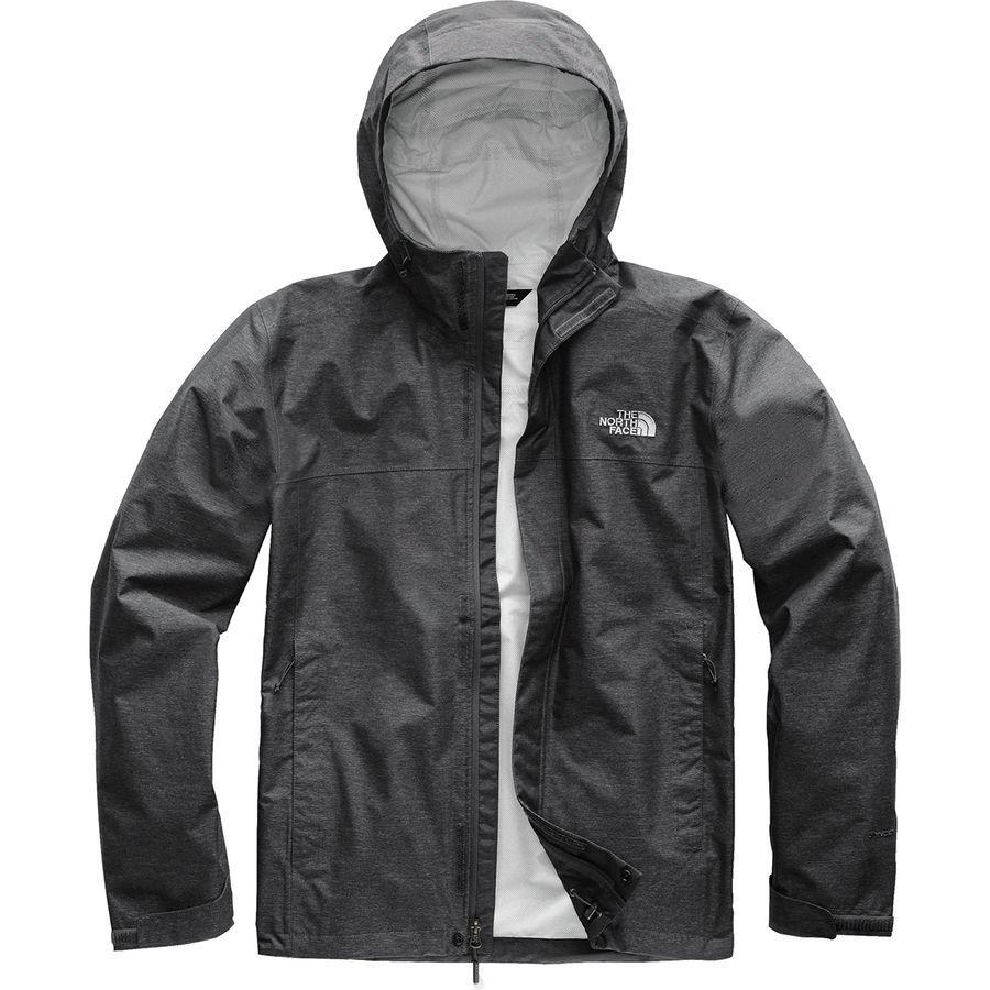 (取寄)ノースフェイス メンズ ベンチャー 2 トール フーデッド ジャケット The North Face Men's Venture 2 Tall Hooded Jacket Tnf Dark Grey Heather/Tnf Dark Grey Heather/Mid Grey