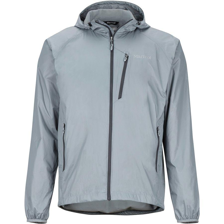 (取寄)マーモット メンズ イーザー ドライクライム フーデッド ジャケット Marmot Men's Ether DriClime Hooded Jacket Grey Storm