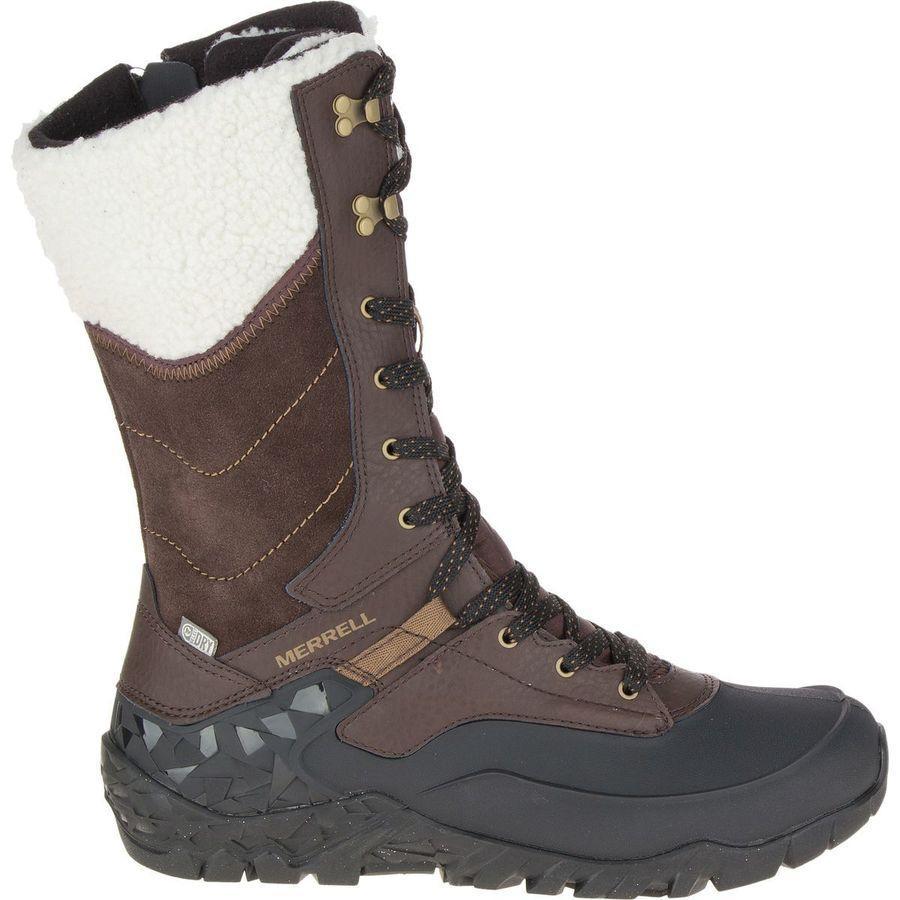 0812caa7de (order) メレルレディースオーロラトールアイス + winter boots Merrell Women Aurora Tall Ice+  Winter Boot Espresso