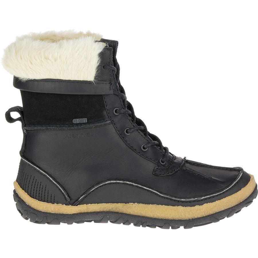 (取寄)メレル レディース トランブラン ミッド ポーラー ブーツ Merrell Women Tremblant Mid Polar Boot Black