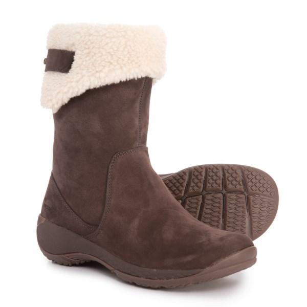 (取寄)メレル レディース アンコール Faux-Fur-Lined ブーツ Merrell Women Encore Faux-Fur-Lined Boots Espresso