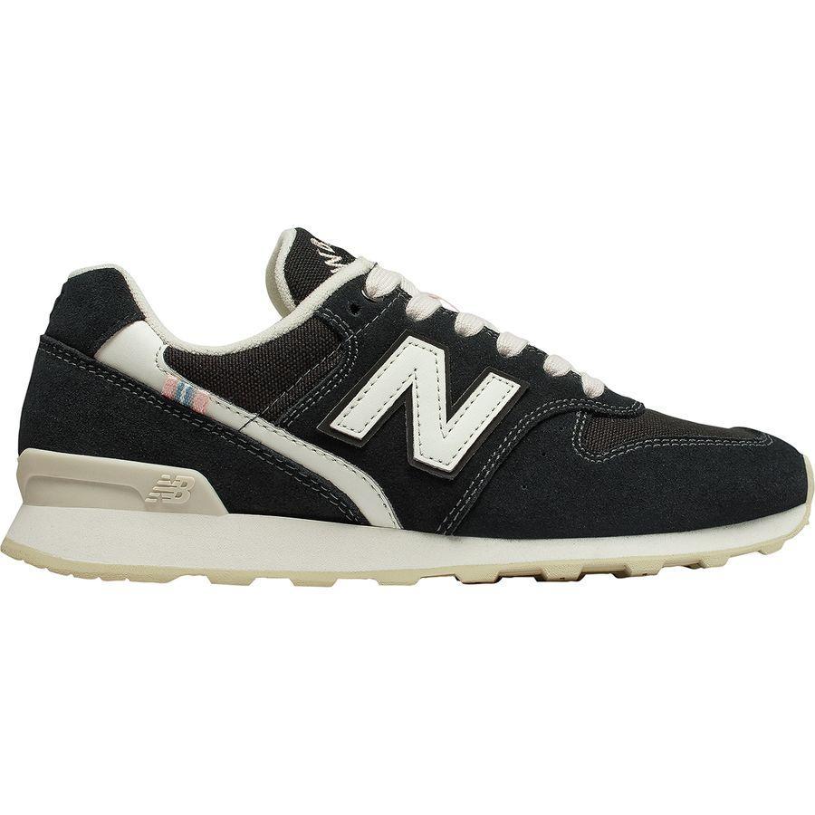 (取寄)ニューバランス レディース 696 スエード シューズ New Balance Women 696 Suede Shoe Black/White