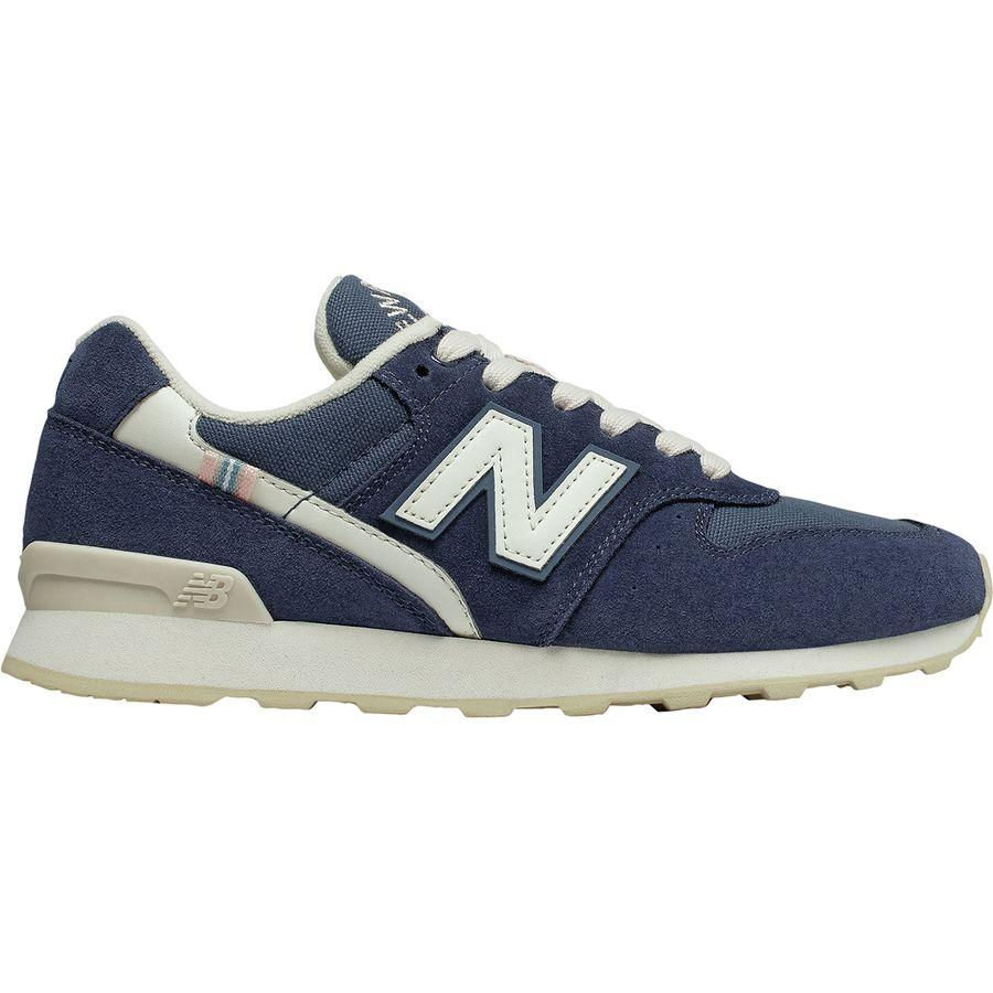 (取寄)ニューバランス レディース 696 スエード シューズ New Balance Women 696 Suede Shoe Light Cashmere/White