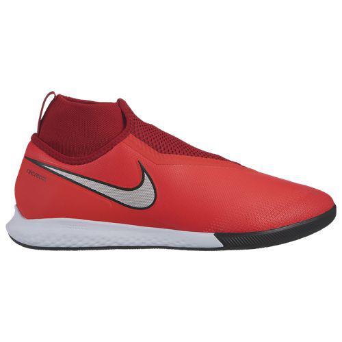 (取寄)ナイキ メンズ ファントム ビジョンX プロ DF ic Nike Men's Phantom VisionX Pro DF IC Bright Crimson Metallic Silver University Red